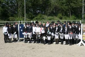 Teilnehmer der Vereinsmeisterschaften